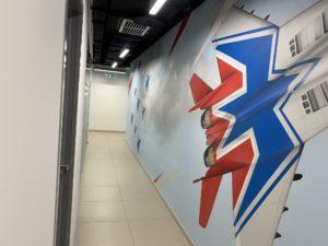 Роспись прихожей и коридора