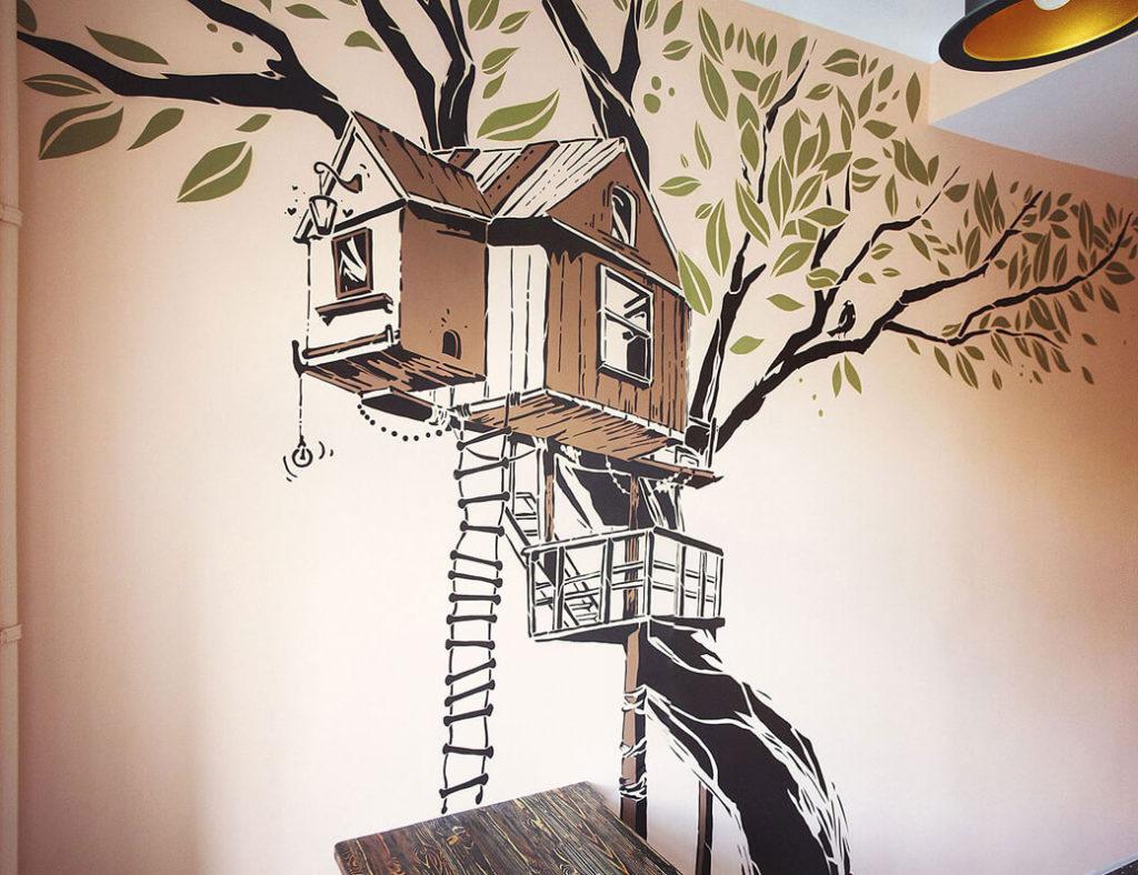 Крутые рисунки на стенах